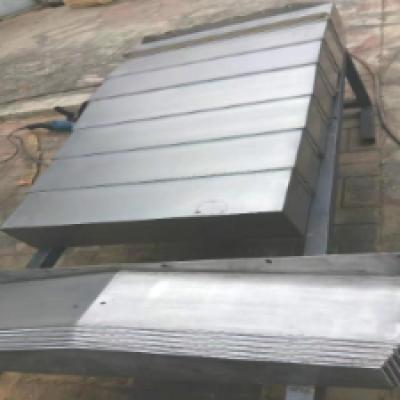 日发RFMH50卧式加工中心导轨上钢板防护罩的安装使用,零部件产品,其他零部件,其他零部件产品
