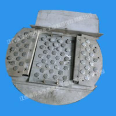 浮阀塔盘 高效塔盘 压力降小塔盘,零部件产品,塔内件,塔盘,