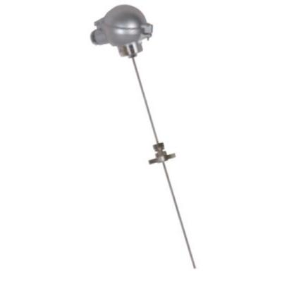 RET/瑞尔特 固定卡套法兰式铠装热电偶 WREK-401 WREK-431 WREK-491单支 不锈钢 8mm