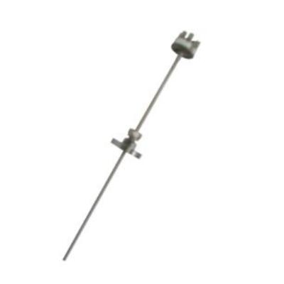 RET/瑞尔特 可动卡套法兰式铠装热电阻WZPK2-505 双支不锈钢1Cr18Ni9Ti 5mm