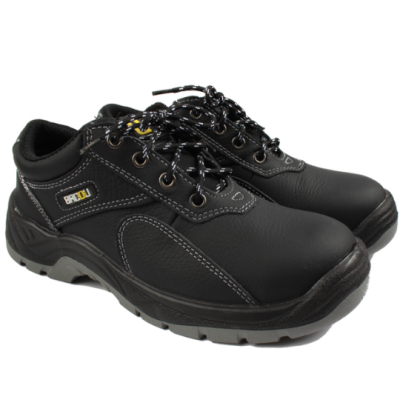 HONEYWELL/霍尼韦尔 BACOU X1系列低帮牛皮安全鞋 SP2012201 黑色 防砸防静电 1双