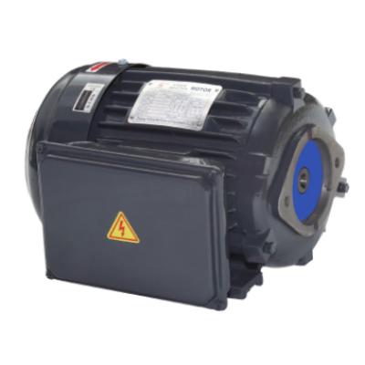 单相液压电机0.75KW单相异步油压电动机1HP4极接口液压油泵电机