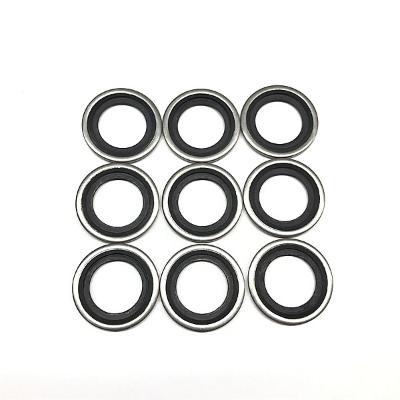不锈钢自定芯氟胶组合垫圈,零部件产品,密封件,垫片,,