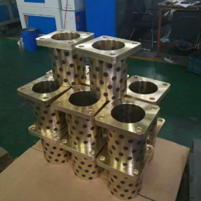 COB固体镶嵌自润滑铜瓦CSB固体润滑剂锒嵌式轴承,零部件产品,传动件,轴,,,,,铜合金,耐磨轴套,标准,非标定制,来样加工