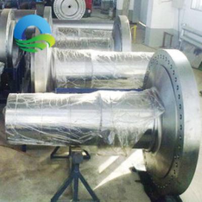 河南法兰轴风电主轴生产加工厂家大型传动法兰轴风电主轴加工定做,零部件产品,传动件,轴,,,,