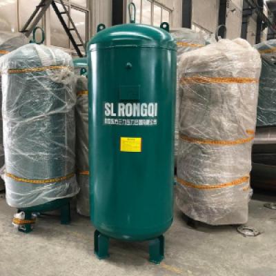 批量直供0.3立方-2立方立式碳钢储气罐 氮气储气罐 缓冲稳压罐带证配件齐,设备产品,静设备,储罐设备,,,