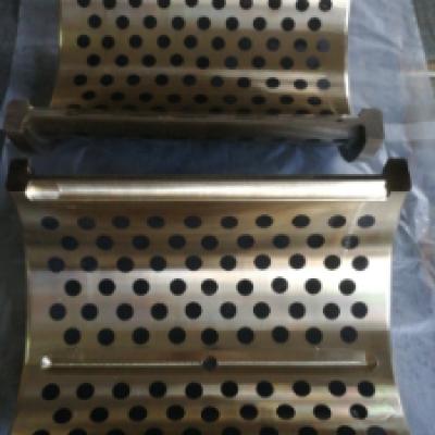 武汉固体镶嵌自润滑铜套|固体润滑剂锒嵌式轴承,零部件产品,传动件,轴,,,,,铜合金,耐磨轴套,标准,非标定制,来样加工
