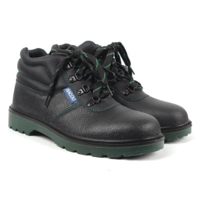 HONEYWELL/霍尼韦尔 GLOBE系列中帮牛皮安全鞋 BC6240471 黑色 防砸防静电防刺穿 1双